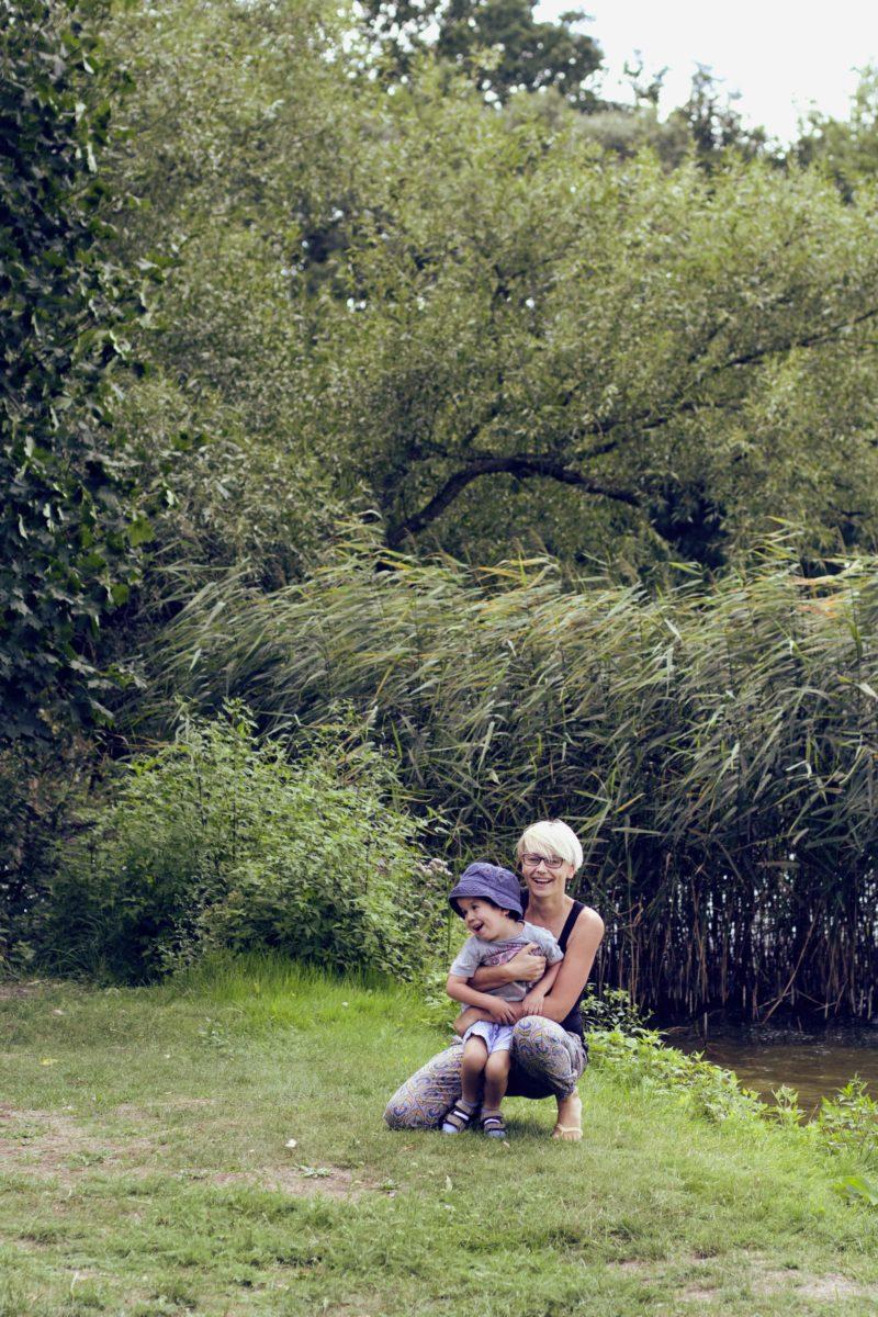 Aneta Kwiatek i Igorek jezioro